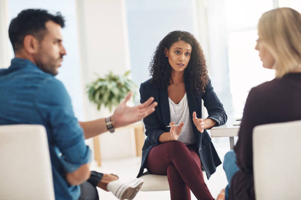 mediation lawyer in Los Angeles counseling couple